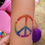 Temporary Glitter Tattoos